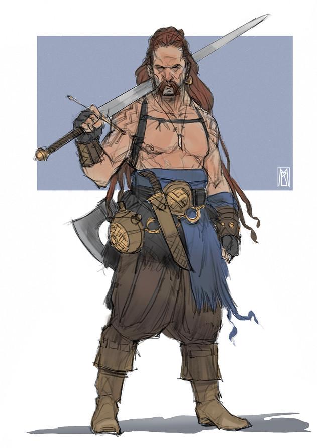 Norseman - color sketch