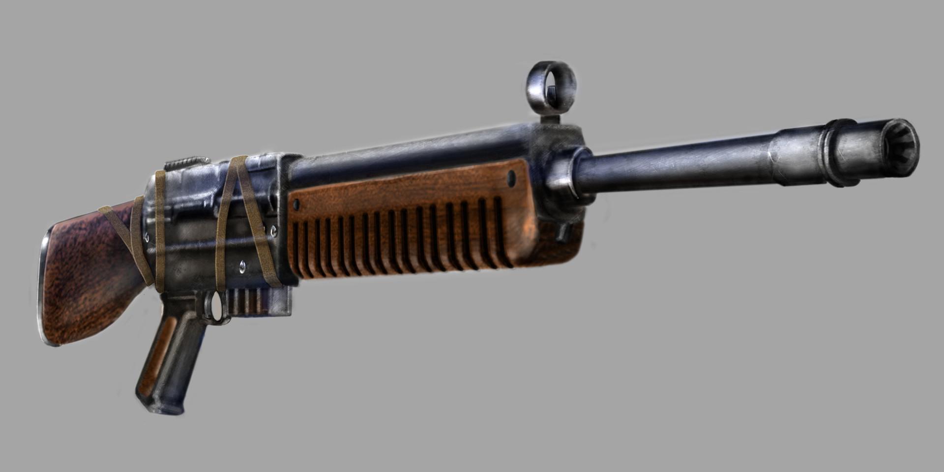 Anıl İşbilir Fallout Hunting Rifle