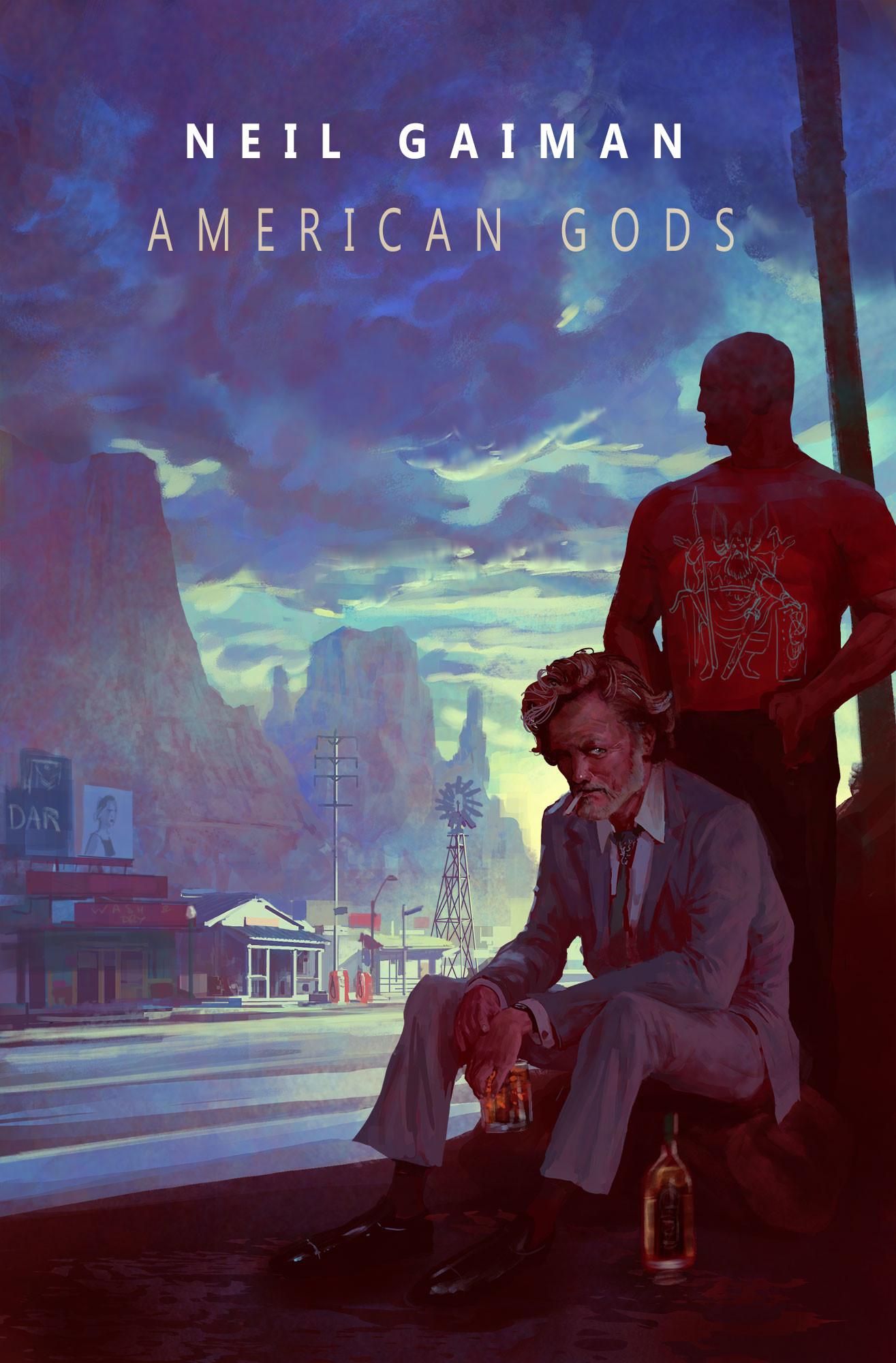 "ArtStation - ""American Gods"" by Neil Gaiman, Marc Simonetti"
