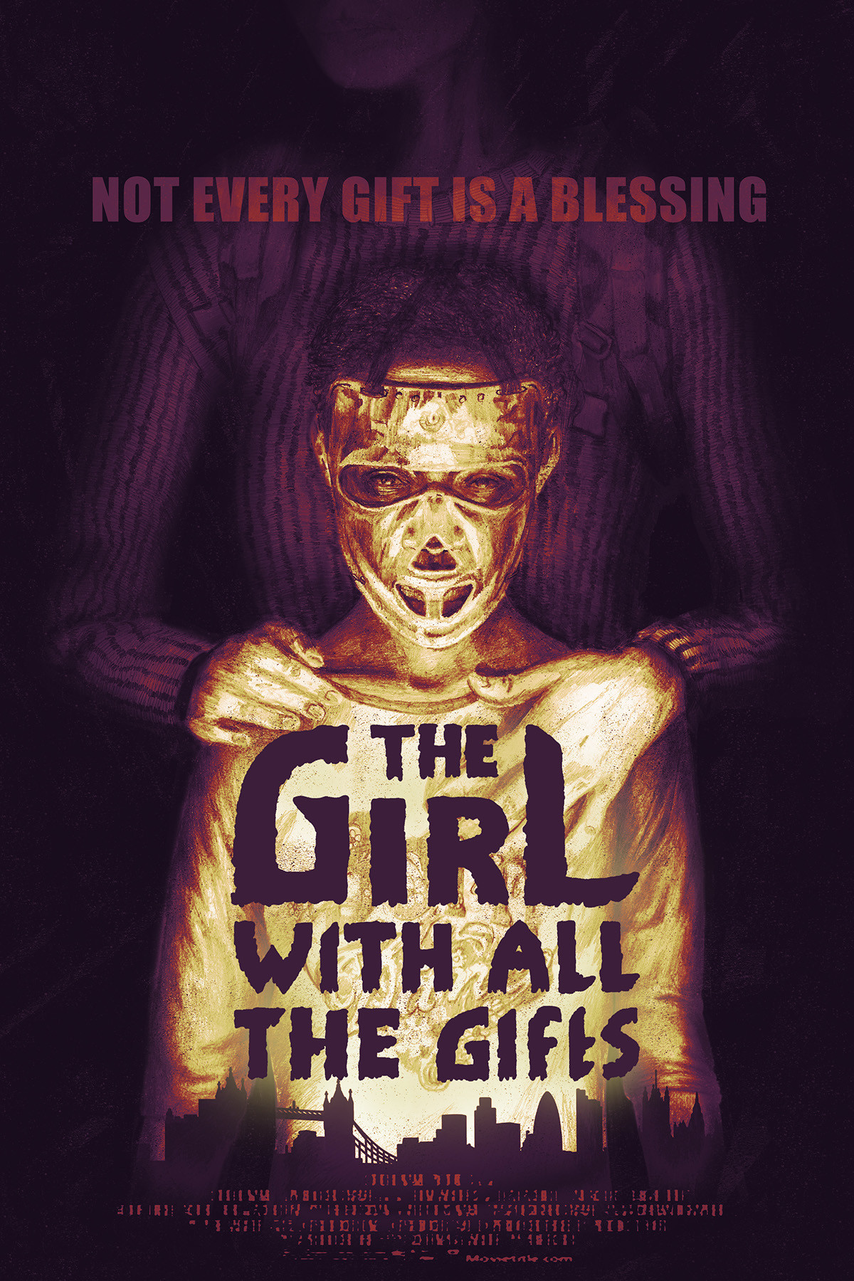 ArtStation - The Girl With All The Gifts Poster, Will Pitney