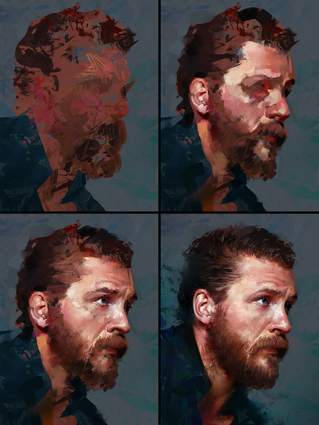 Aaron griffin tom hardy process