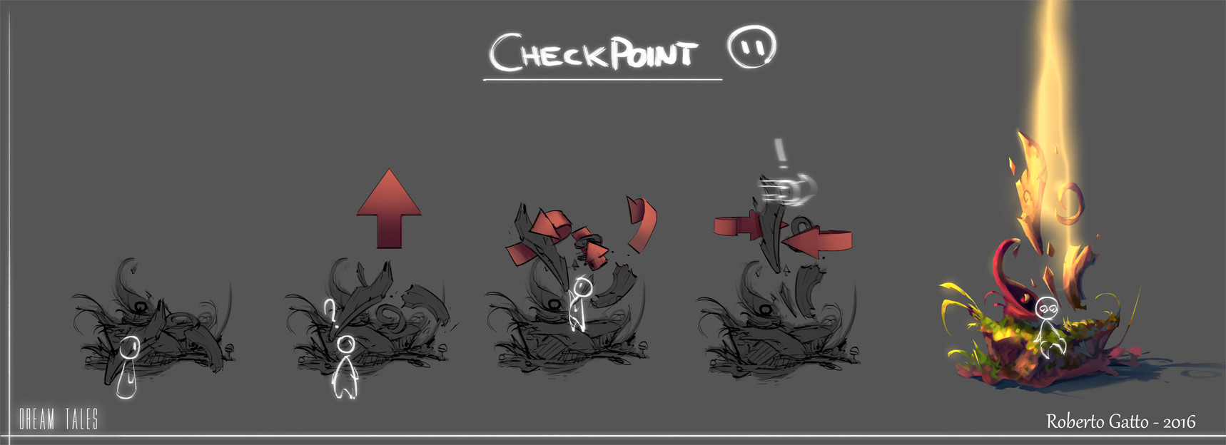 Dream Tales - Checkpoint Concept
