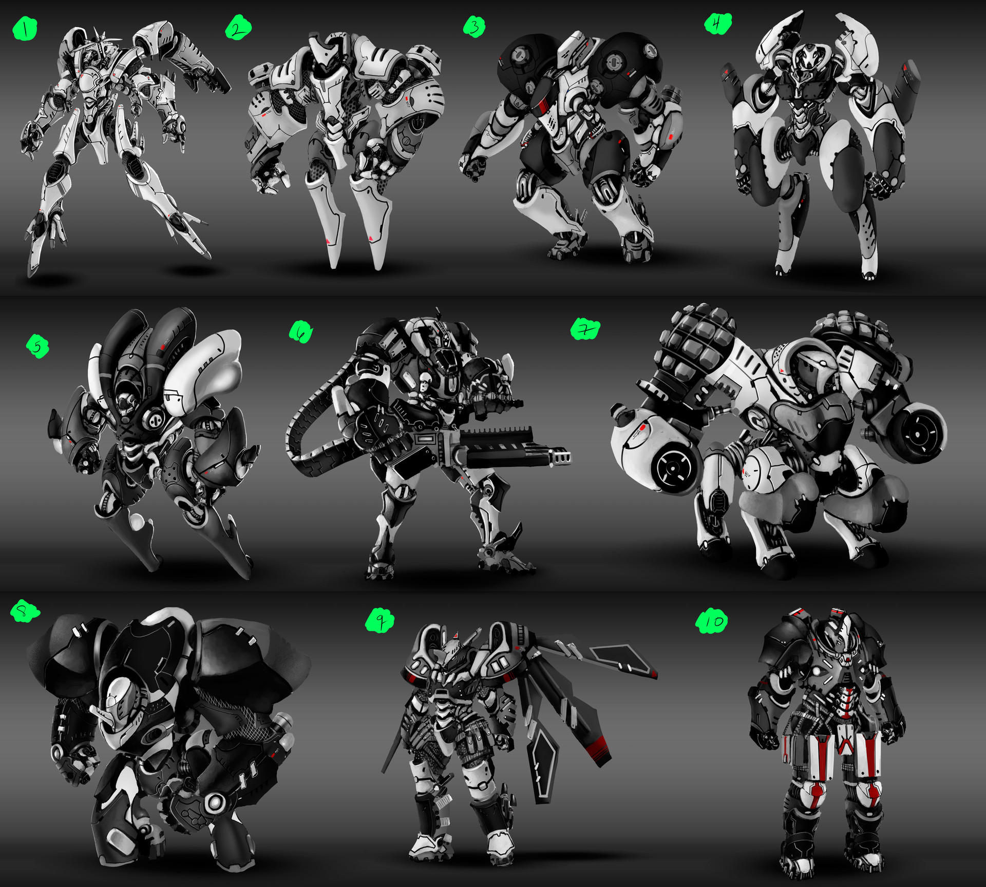 Final Concepts before render