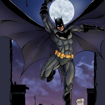 Matt james batman by mattjamescomicarts d9sed3d
