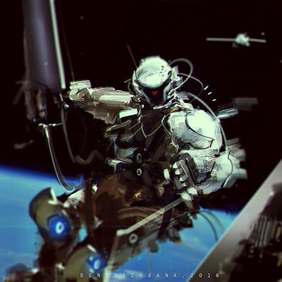 Benedick bana astronaut lores