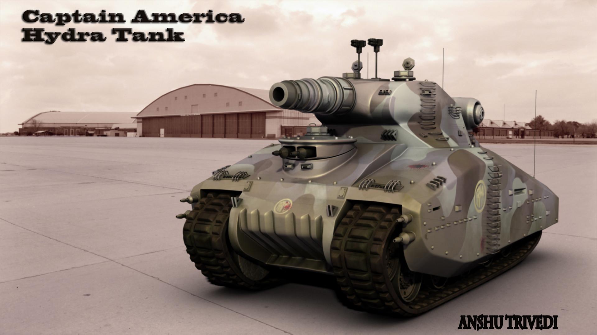 captain america hydra tank