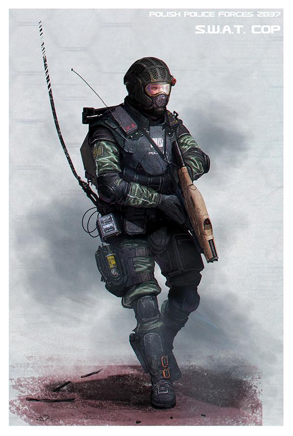 Jaroslaw marcinek ppf 2037 swat cop iii