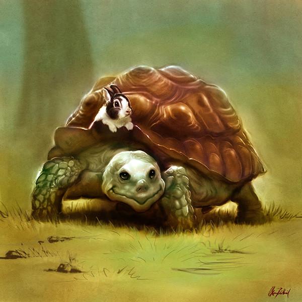 Okan bulbul turtle03