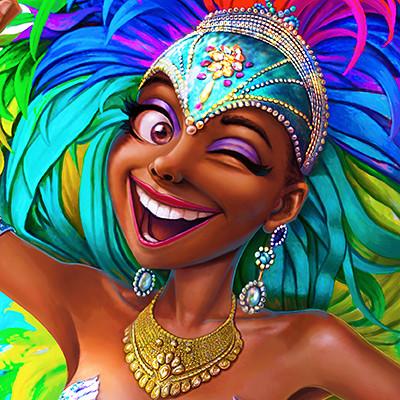 Mervin kaunda carnival queen
