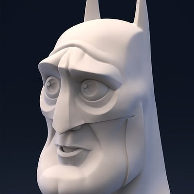Brice laville saint martin render batman copy