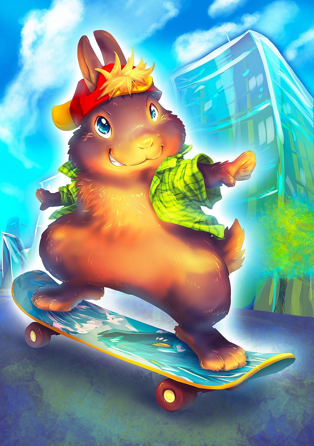 Iva vyhnankova skateboardak2