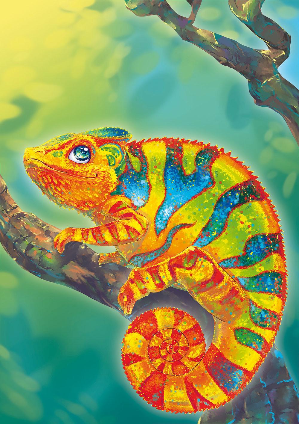 Iva vyhnankova chameleon2