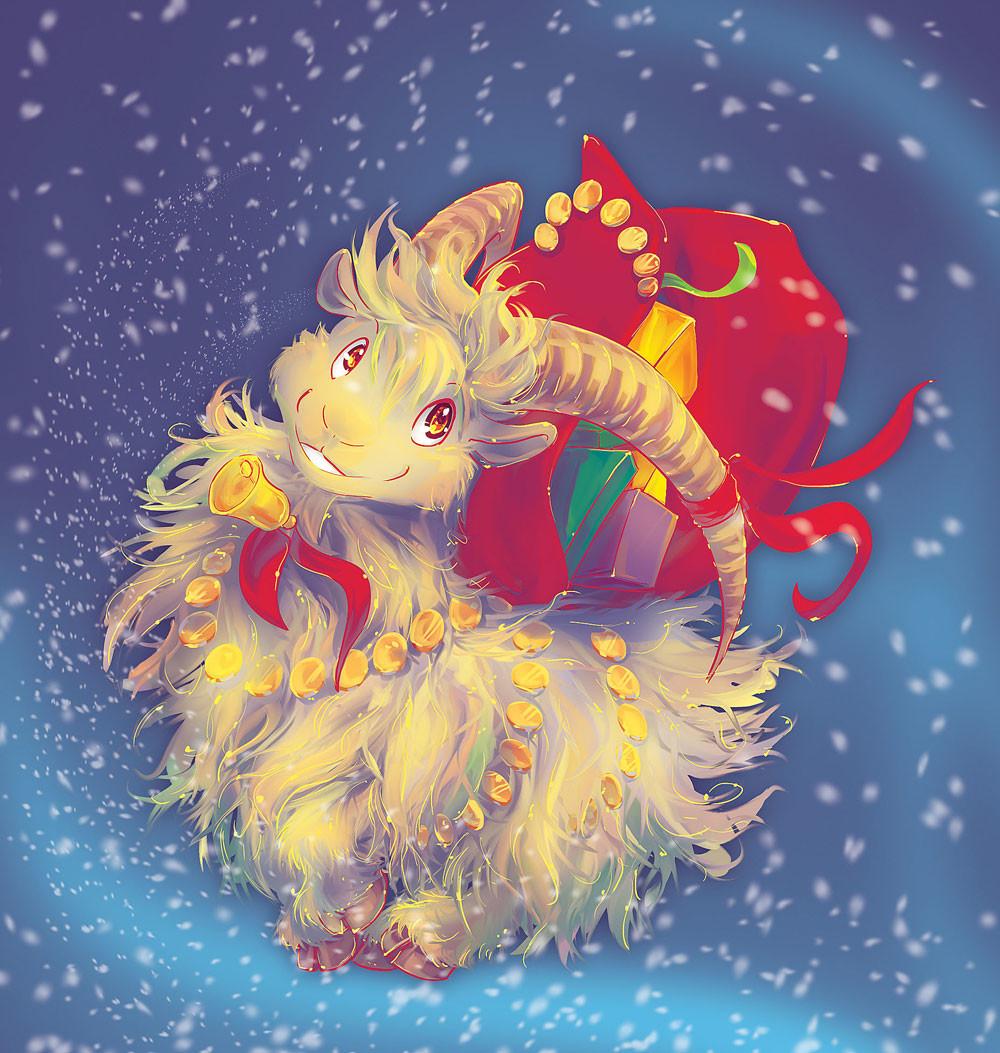 Iva vyhnankova christmas2011julebukk
