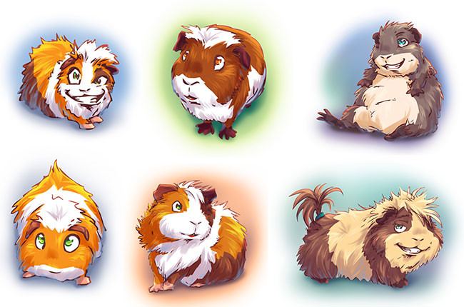 Guinea Pigs Cliparts