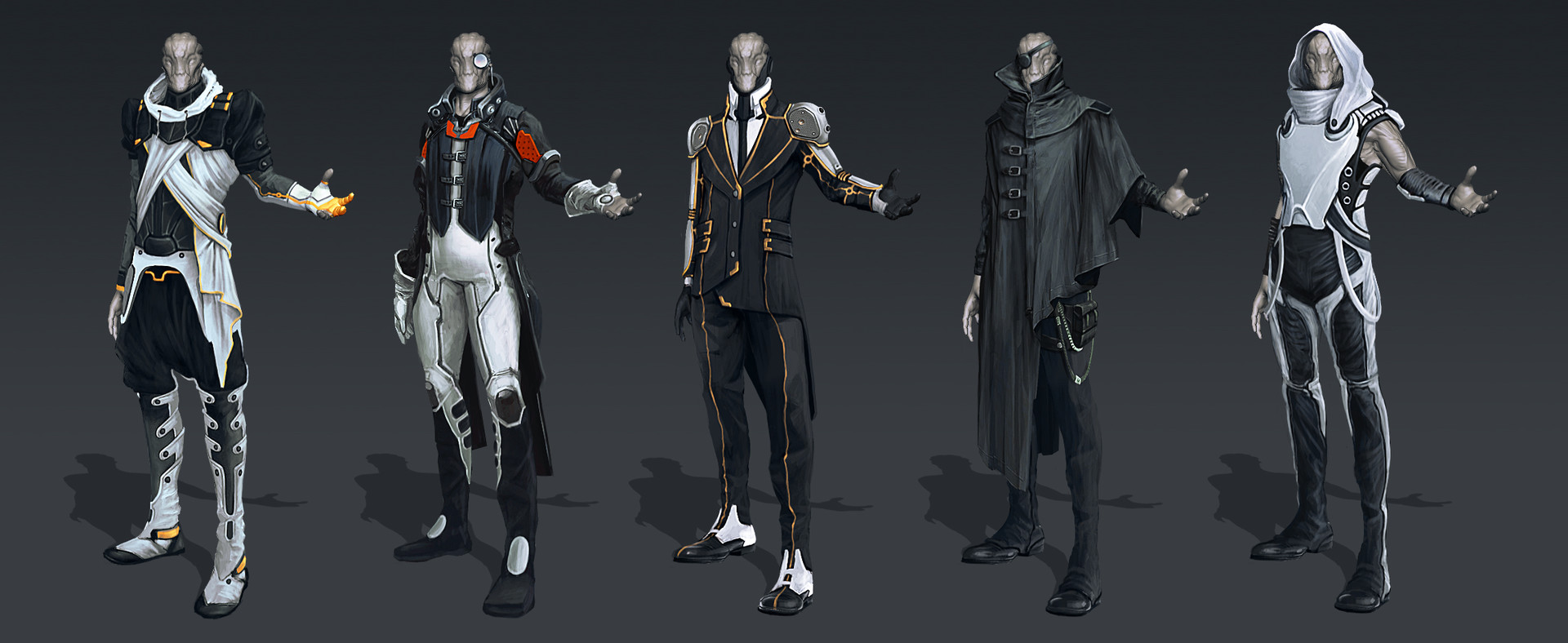 Evozon Game Studio Alien Villain Concepts