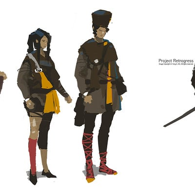 Red hong 20160216 character concept art