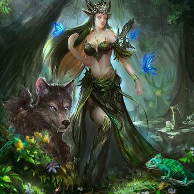 Ni li the forest