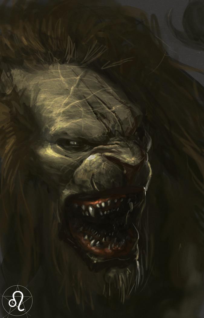 Carlo spagnola demon zodiac leo