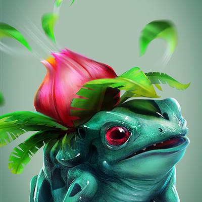 Sergio palomino pokemon project 002 ivysaur bylo0bo0