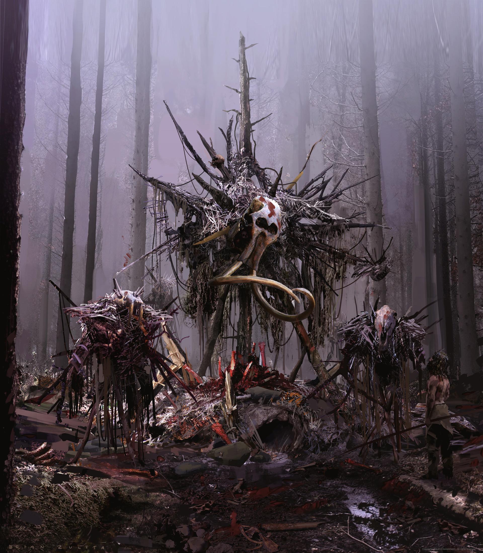 Artstation Udam Scarecrows Brian Zuleta