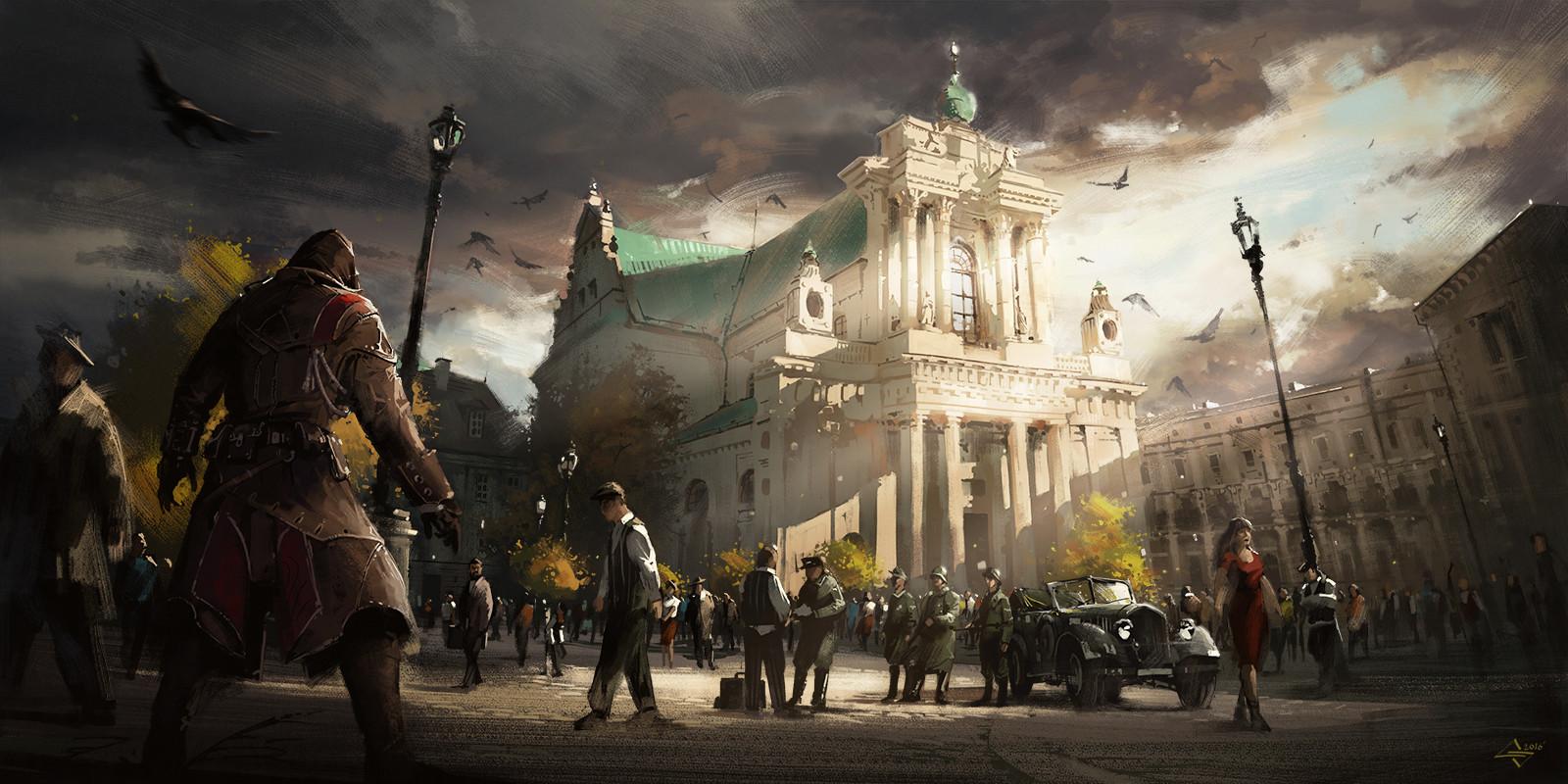 Artstation Assassin S Creed Uprising 44 Michal Sztuka