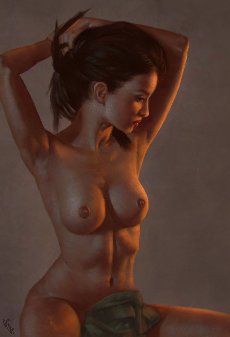 Angel ganev female torso 4 day 249 by angelganev d9rck1p