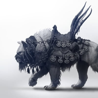 Per haagensen khitan tiger mount 2k w sign