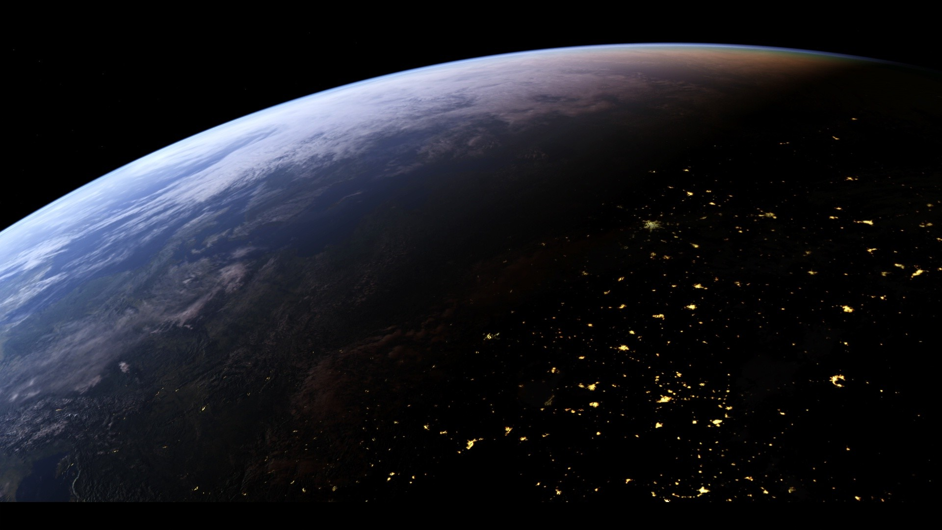 planet earth from space - HD1920×1080