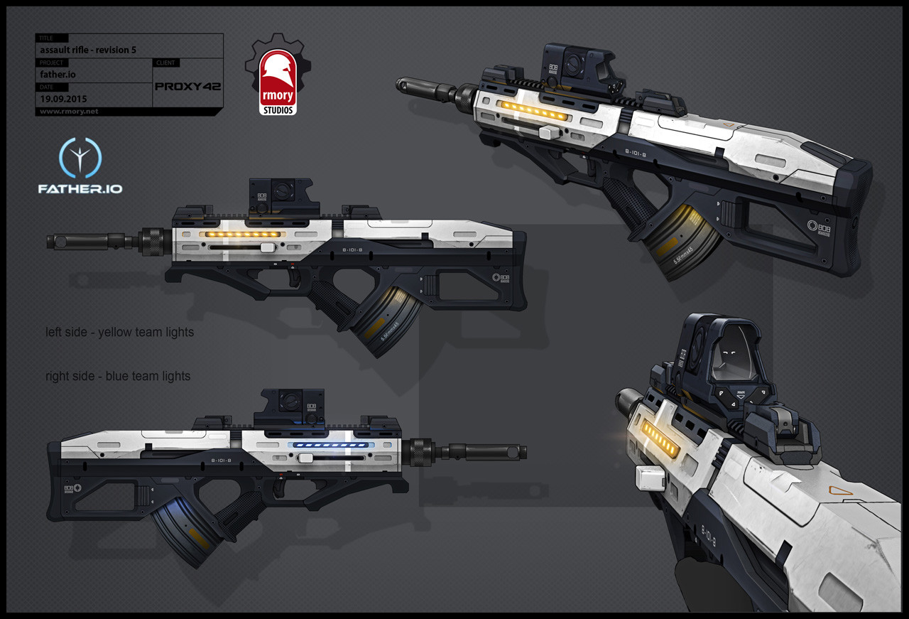 father.io assault rifle - rmory studios