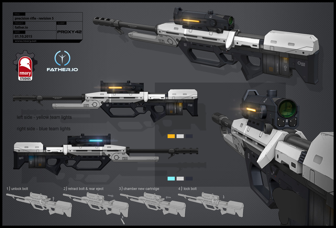 father.io precision rifle - rmory studios