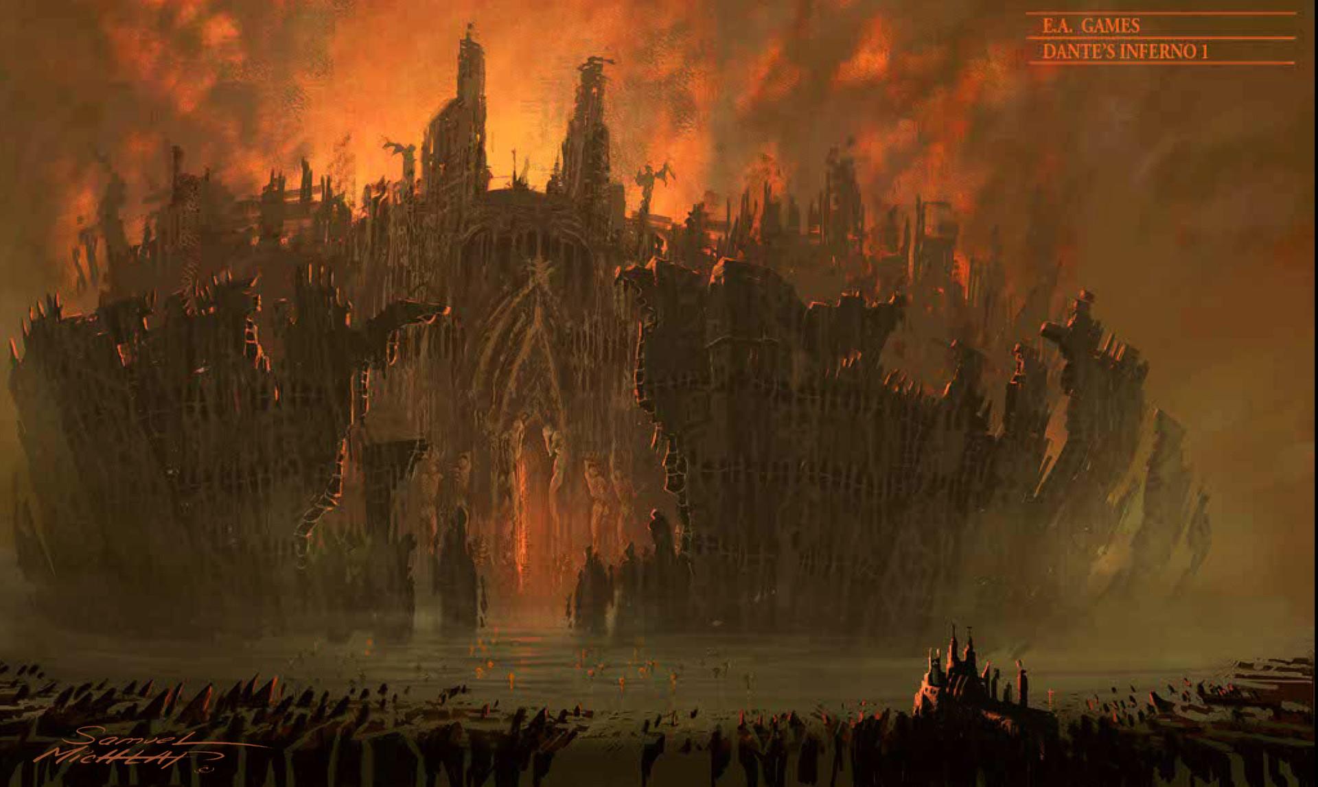 Artstation Outer Gates Of Hell Dante S Inferno Ea Samuel