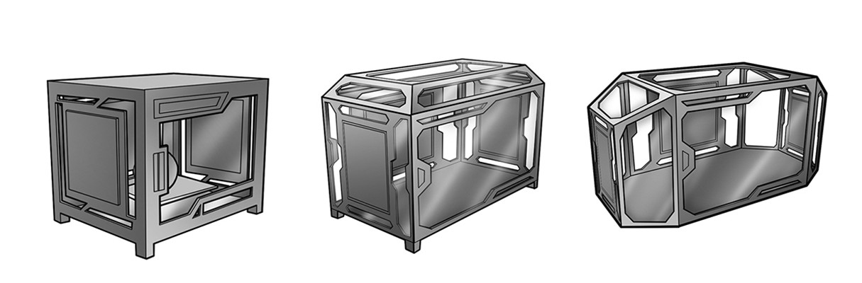Concept for 3D Printer Puzzle