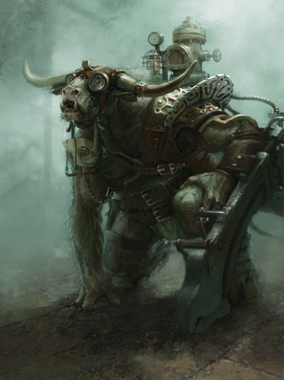 Steampunk Minotaur