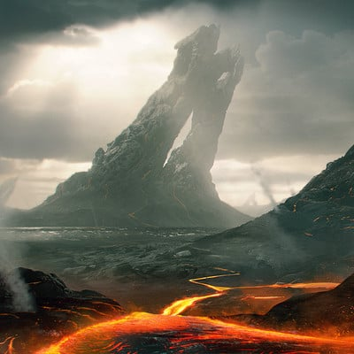 Wojtek fus lava fields