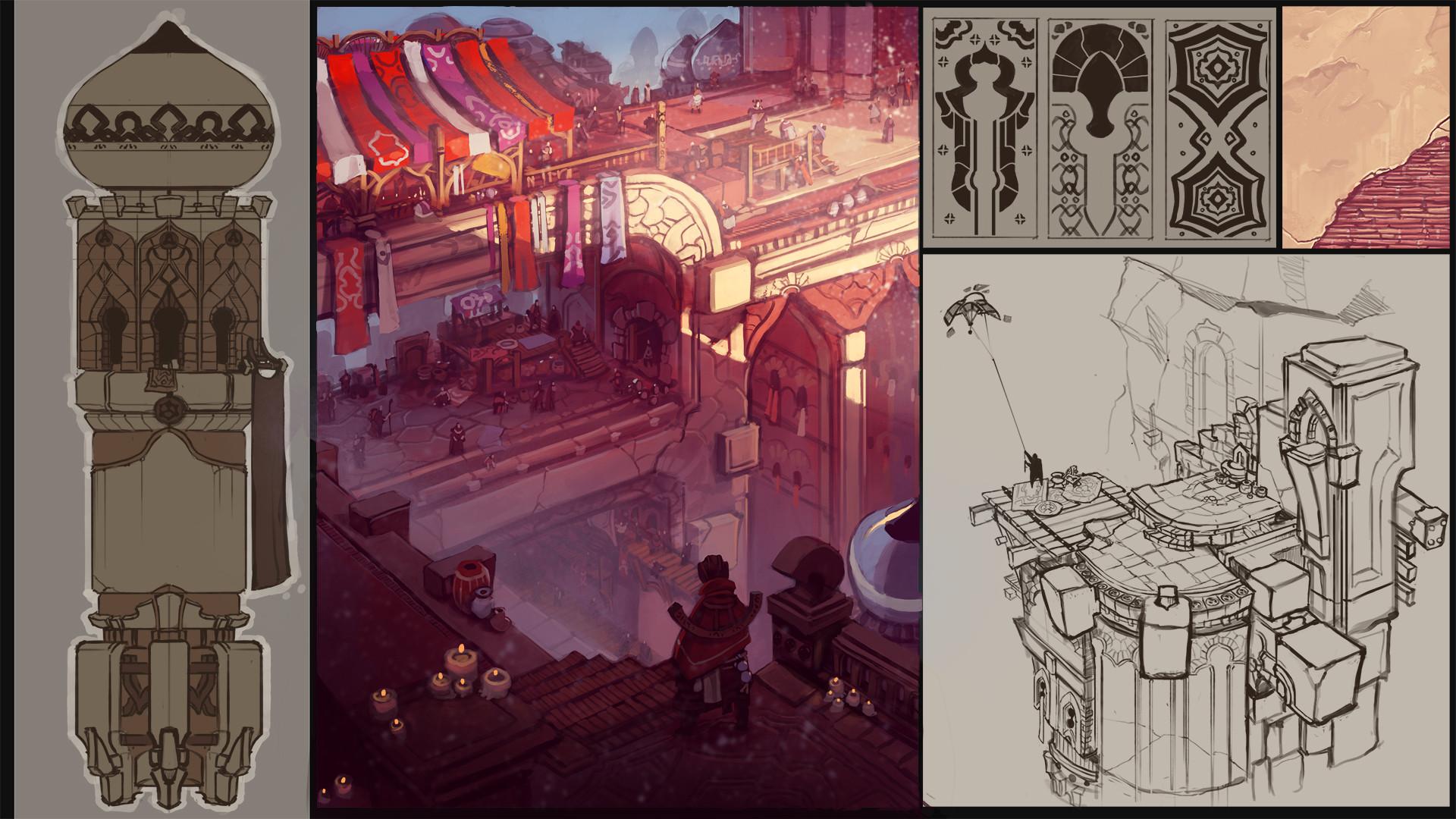 Domen kozelj desert city production concepts