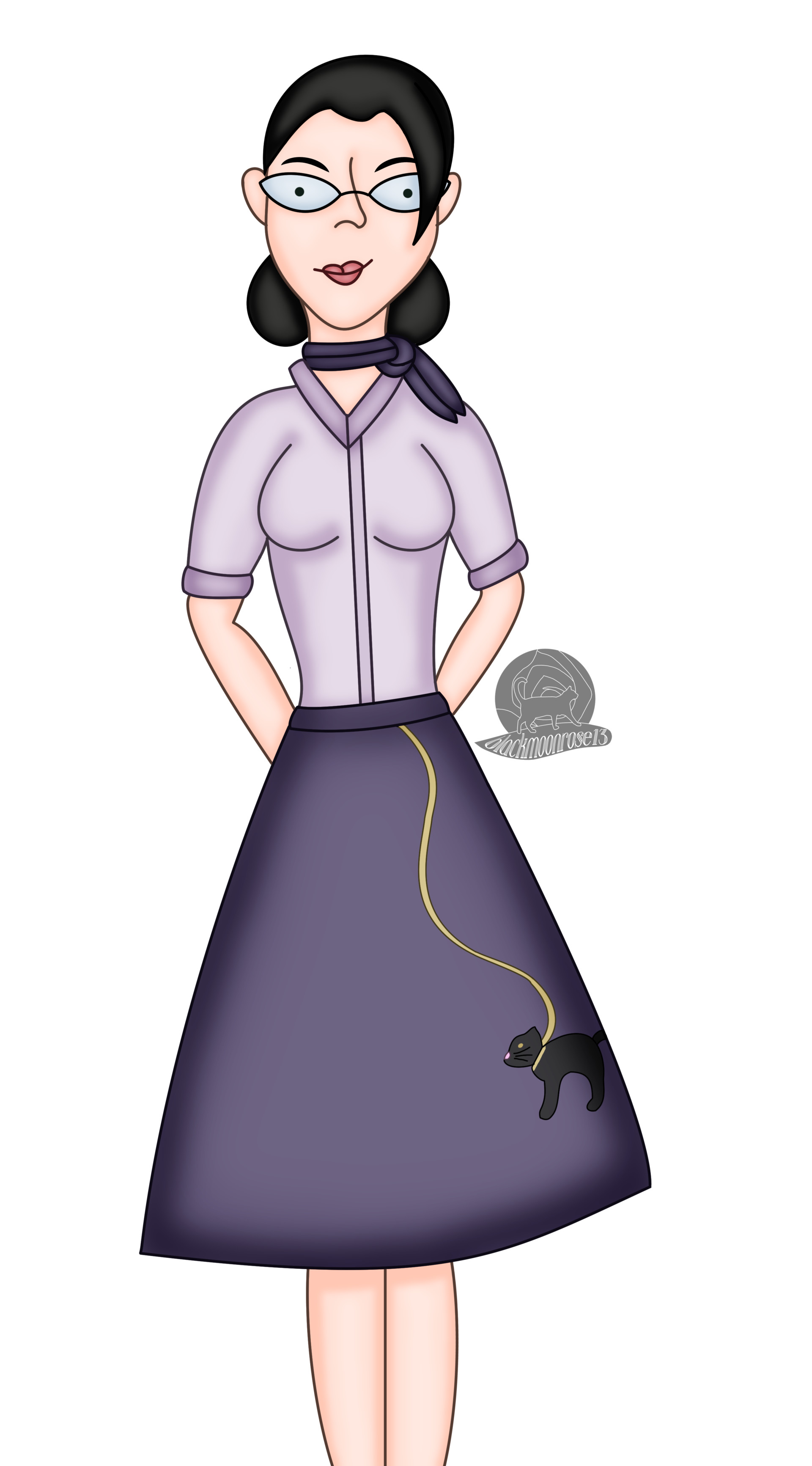 Poodle Skirt Pauling Speed Paint