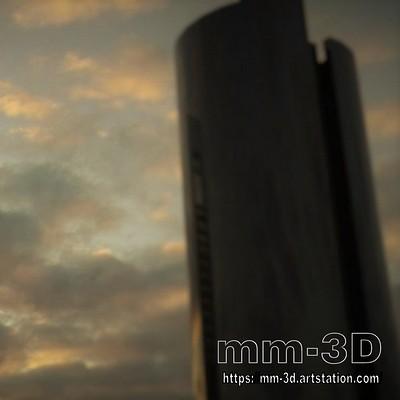 Miguel martin madrid skyscrapers miguelmartin3d 02