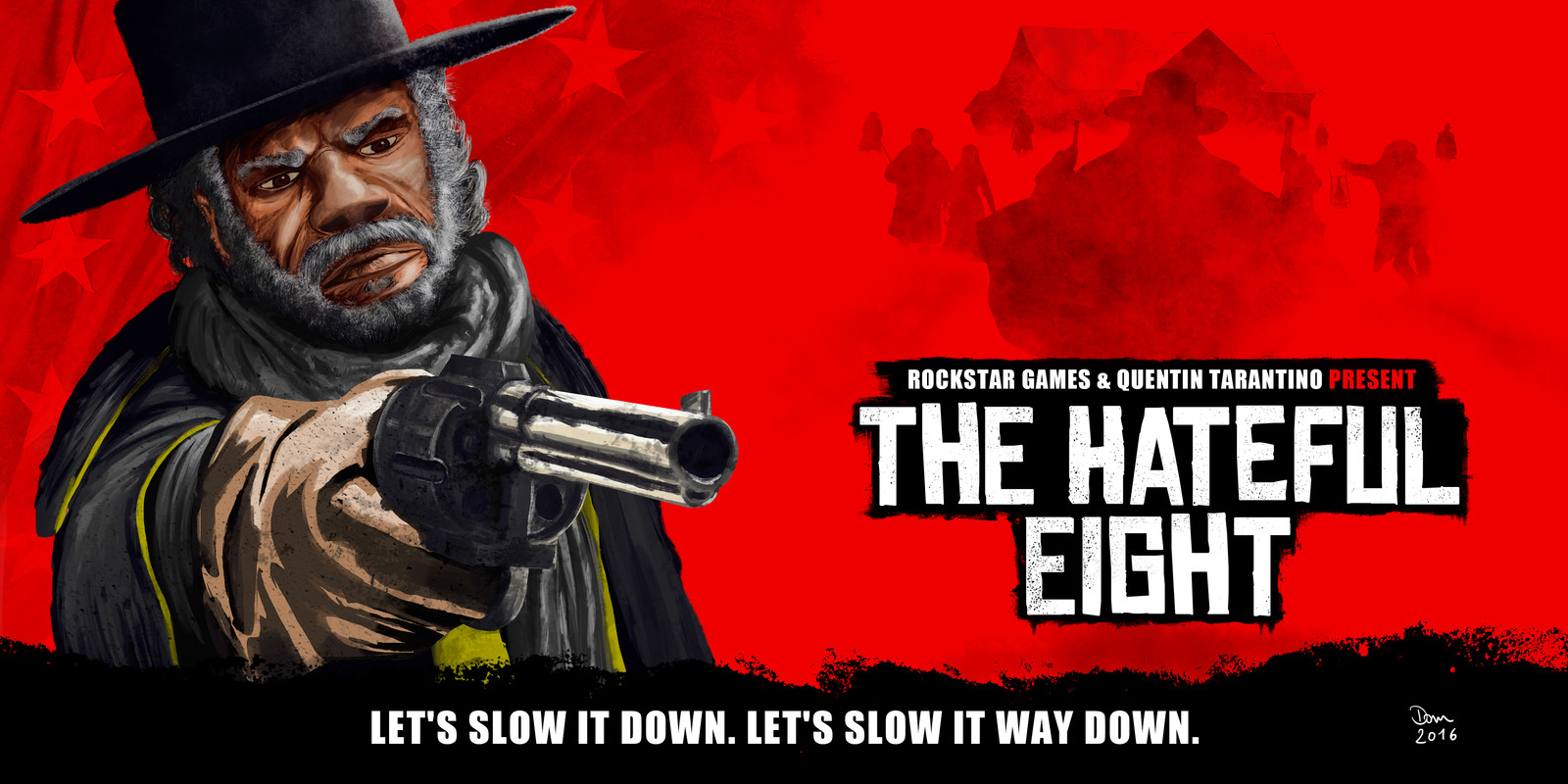The Hateful Eight meets Red Dead Redemption