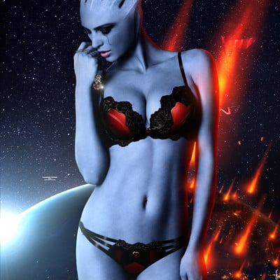 Alexander krasnov asari photo manipulation 2 poster