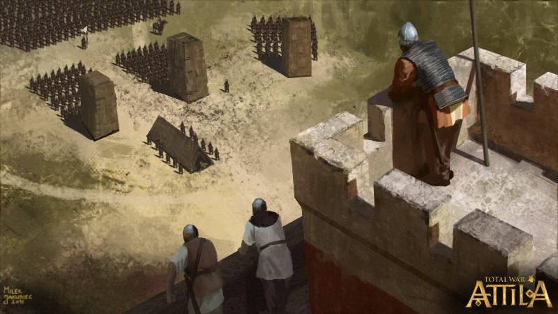 Milek jakubiec besieged east rome