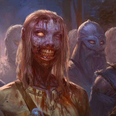 Devin platts zombie human retake final
