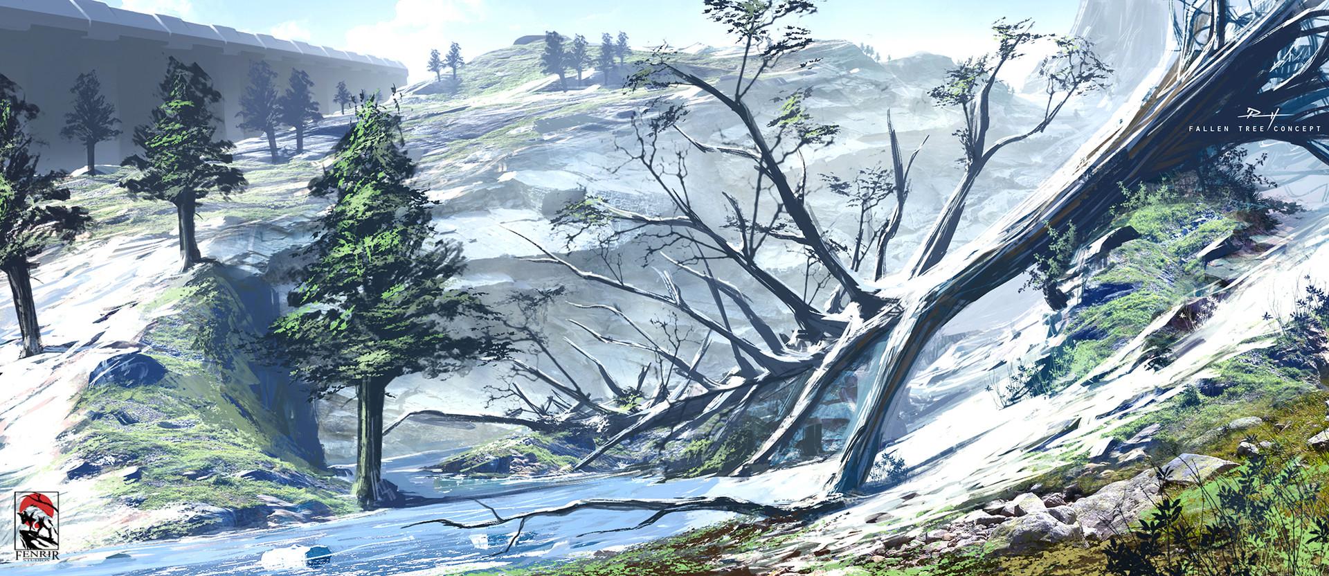 Daniel pellow fallen tree2