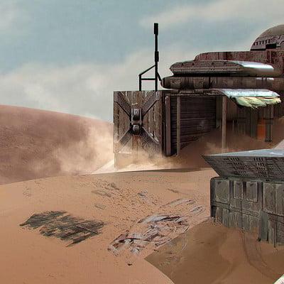 Sarayu ruangvesh desert outpost