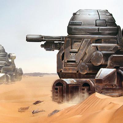 Sarayu ruangvesh desert turret concept1