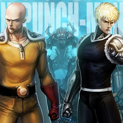 Sang hyun yu onepunch man fan art katoyo