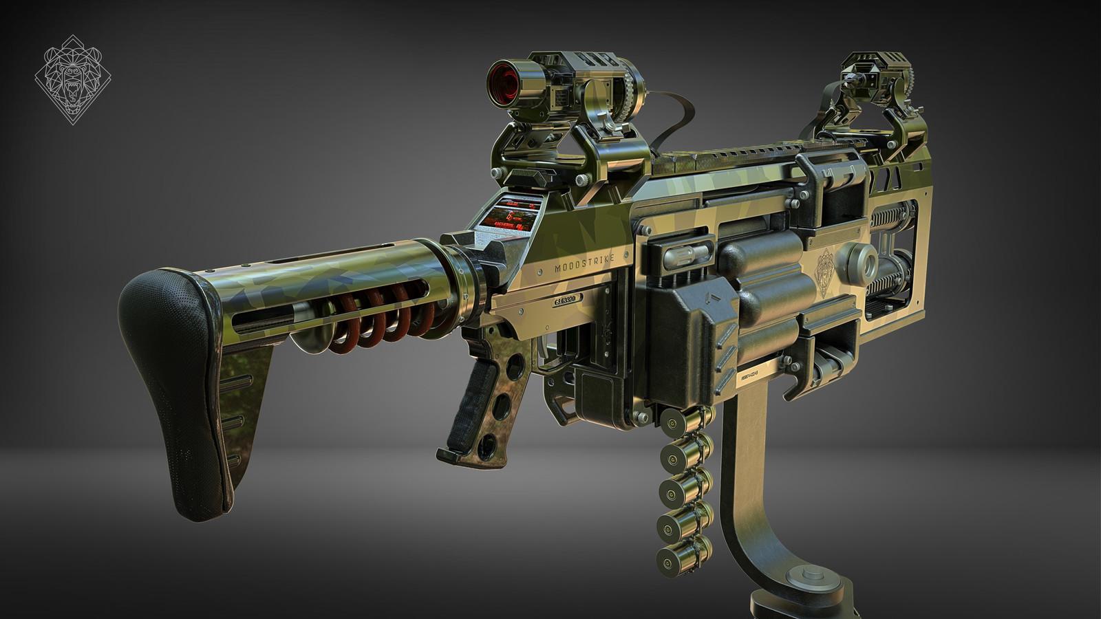 GL-6 Grenade Launcher