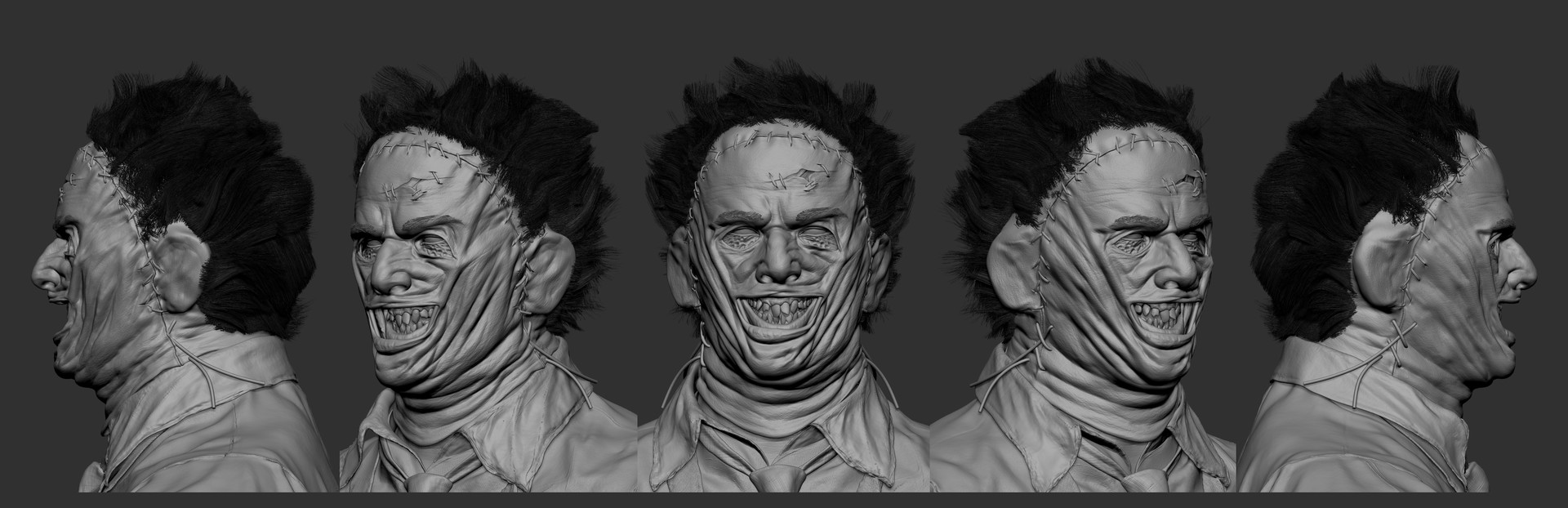 Solomon gaitan leatherface crazykillersmile