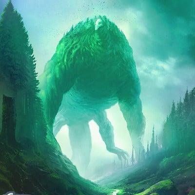 Ibrahem swaid green colossus l