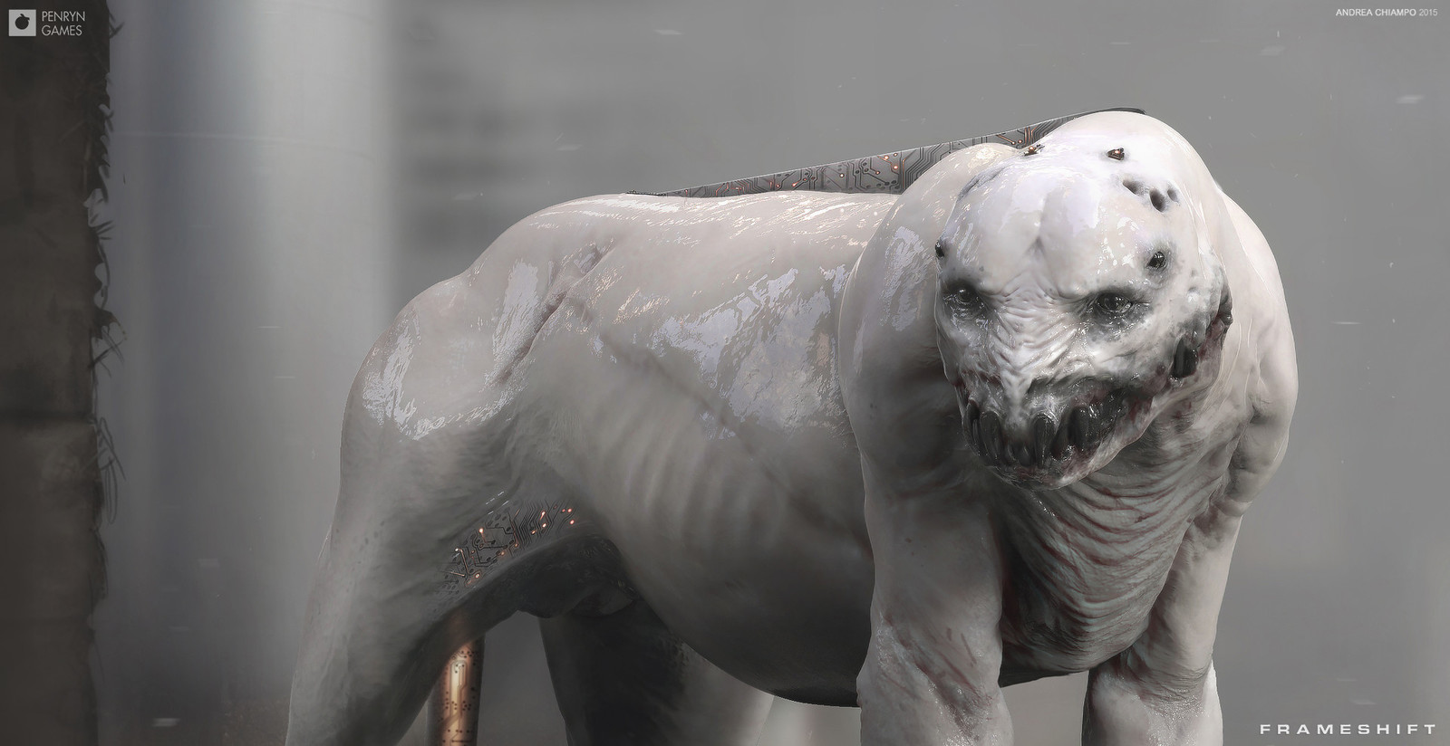Mutants are genetically engineered and cybernetically augmented to be powerful predators, specifically designed to kill or maim their human prey.