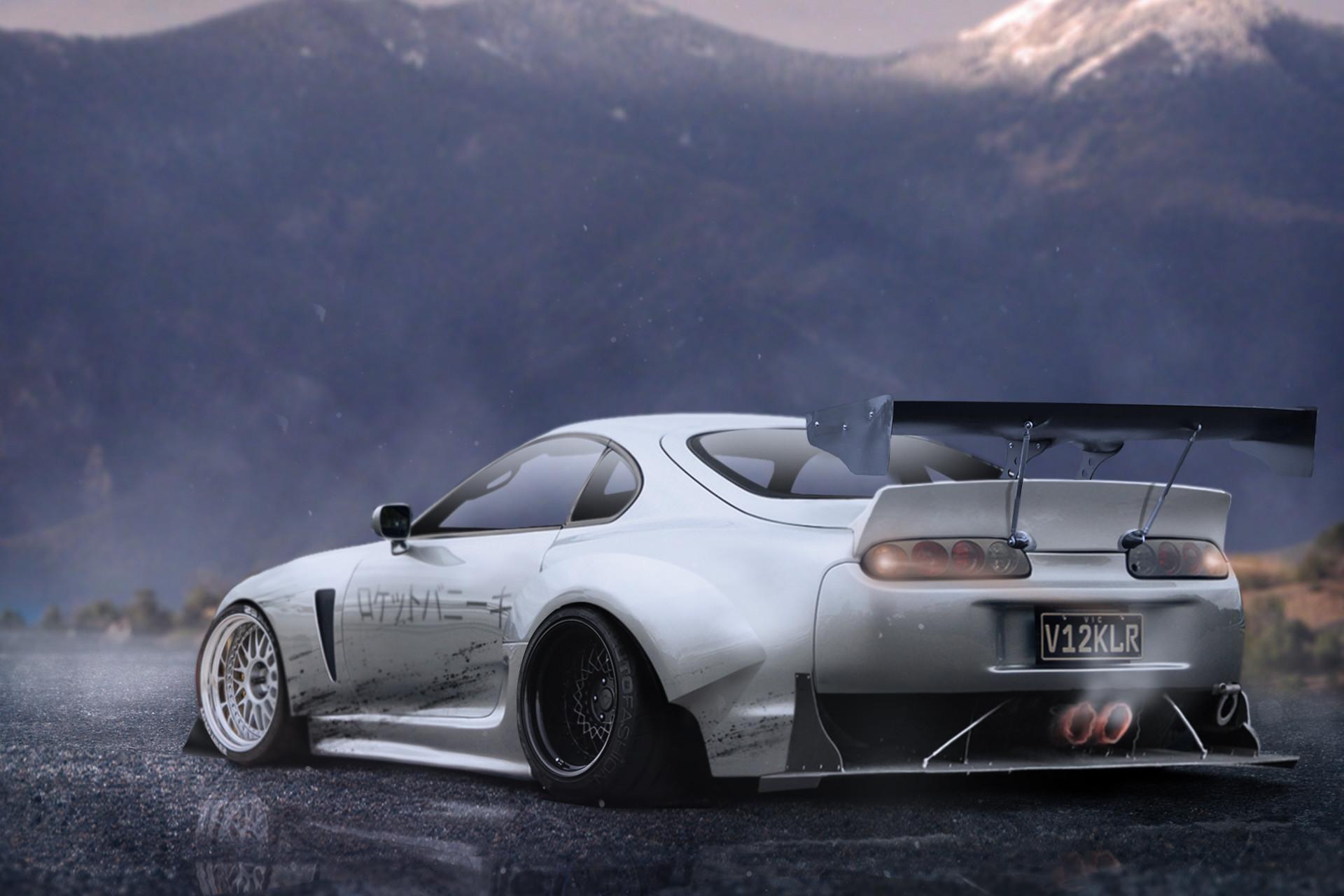 ArtStation - Rocket Bunny Toyota Supra, Matt McQuiggan